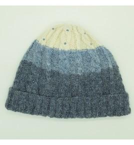 Bonnet tricolore bleu pour...